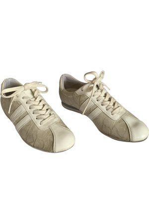 Calvin Klein Women Sneakers - Ecru Cloth Trainers