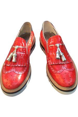Baracuta Leather Flats