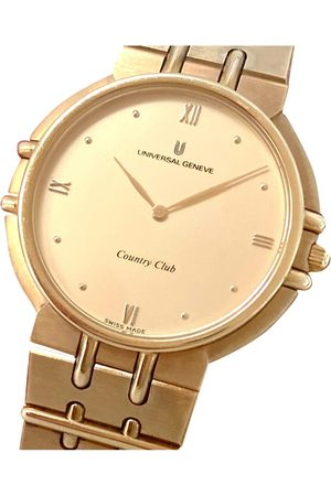 Universal Geneve Plated Watches