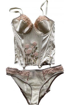 John Galliano Women Lingerie Sets - Silk lingerie set