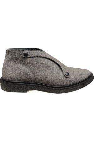 ADIEU PARIS Grey Leather Boots