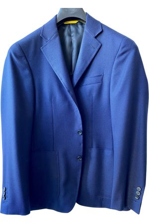 CANALI Navy Wool Jackets