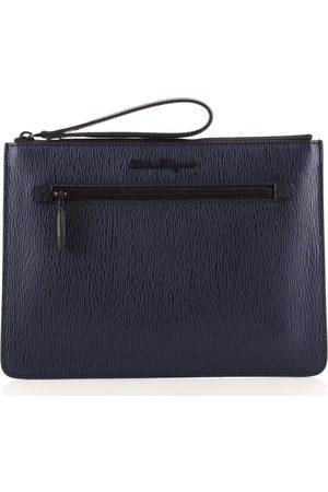 Salvatore Ferragamo Leather Clutch Bags
