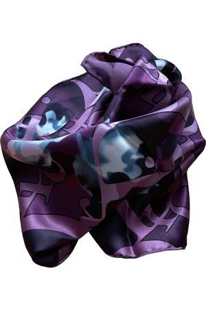 Dior Women Scarves - Multicolour Silk Scarves