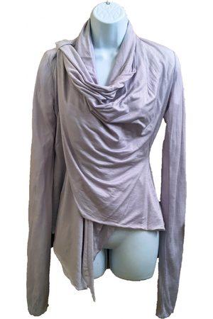 RICK OWENS LILIES Grey Viscose Knitwear