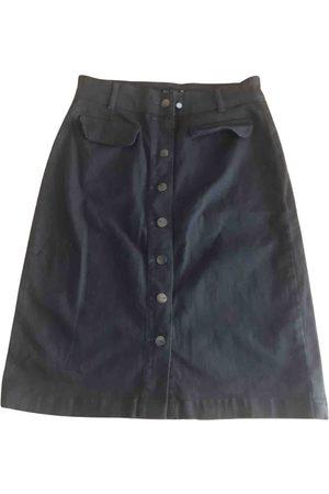 Breal Women Denim Skirts - Khaki Denim - Jeans Skirts