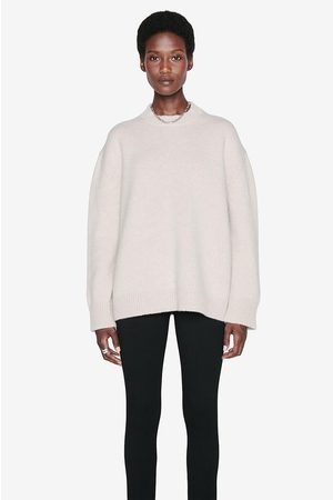 ANINE BING Women Sweaters - Rosie Sweater in Oatmeal