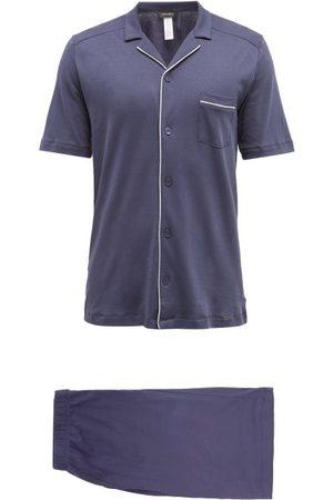 Hanro Night & Day Cotton-jersey Pyjamas - Mens