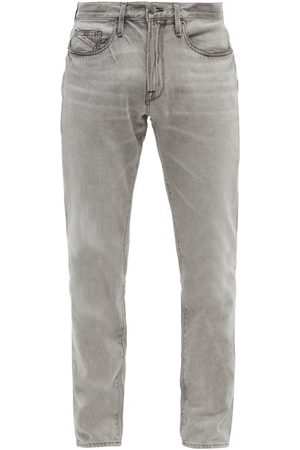 Frame L'homme Low-rise Slim-leg Jeans - Mens - Grey