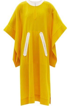ZEUS+DIONE Women Beach Dresses - Agora Cotton-voile Kaftan - Womens