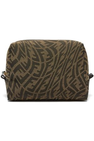 Fendi Women Toiletry Bags - Ff Vertigo-jacquard Canvas Washbag - Womens - Multi