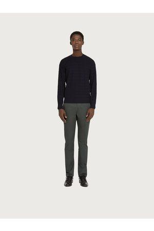 Salvatore Ferragamo Men Round neck sweater