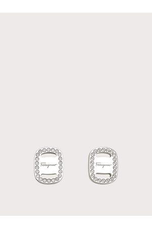 Salvatore Ferragamo Women Studs - Women Small Vara plate earrings