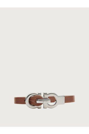 Salvatore Ferragamo Men Gancini bracelet - size S