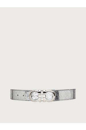 Salvatore Ferragamo Women Reversible and adjustable Gancini belt