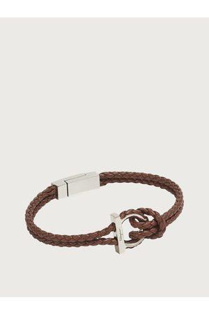 Salvatore Ferragamo Men Gancini bracelet - size L