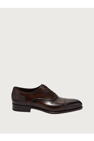 Salvatore Ferragamo Men Shoes - Men Gancini Oxford Size 6