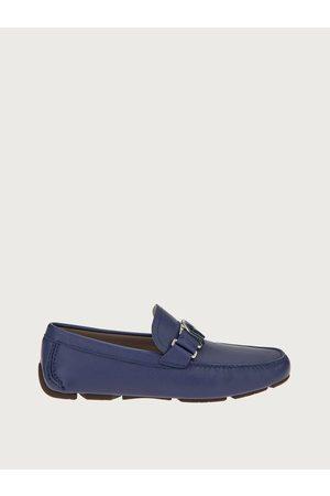 Salvatore Ferragamo Men Loafers - Men Driver with SF ornament Size 8