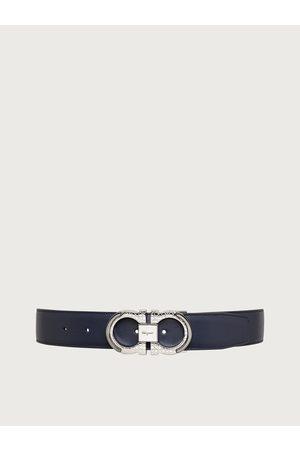 Salvatore Ferragamo Men Reversible and adjustable Gancini belt