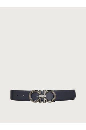 Salvatore Ferragamo Men Belts - Men Reversible and adjustable Gancini belt