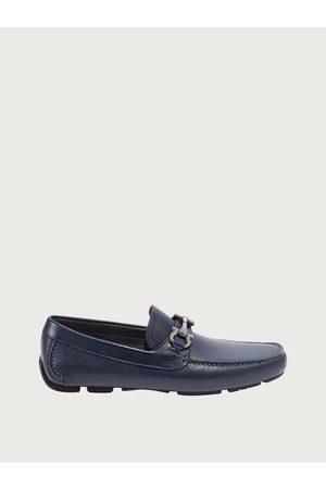 Salvatore Ferragamo Men Loafers - Men Driver with Gancini ornament Size 7