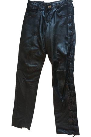 Maison Martin Margiela Men Leather Pants - Leather trousers