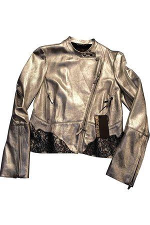 Roberto Cavalli Leather Leather Jackets