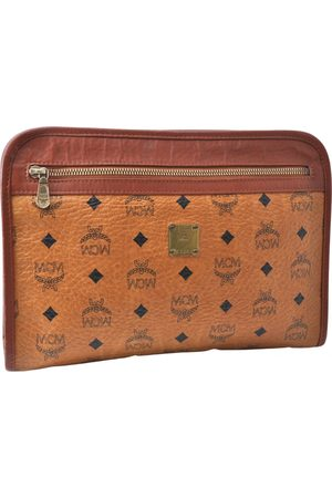 MCM Women Clutches - Leather Clutch Bags