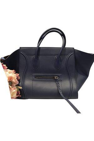 Céline Navy Leather Handbags
