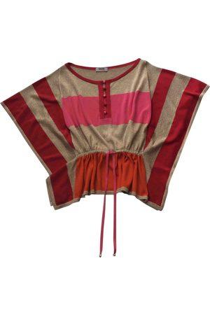 Moschino Women Tops - Multicolour Cotton Top