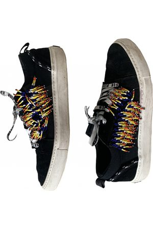Msgm Leather Trainers