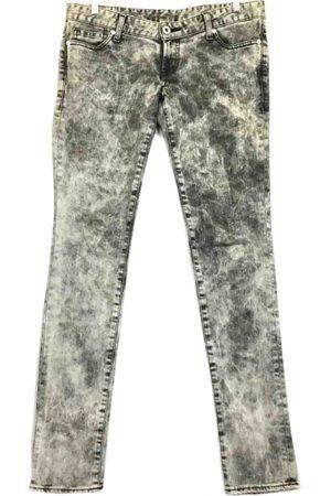 Moussy Grey Cotton - elasthane Jeans