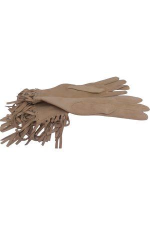 Hermès Suede Gloves