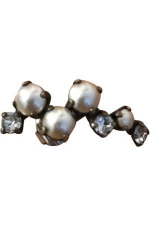 RYAN STORER Metallic Metal Earrings