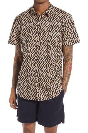 BP. Men Short sleeves - Men's Checkered Short Sleeve Button-Up Shirt