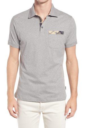 Barbour Men's Men's Tartan Pocket Polo Shirt