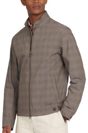 Barbour Men Jackets - Men's Dobel Plaid Stretch Cotton Blend Jacket