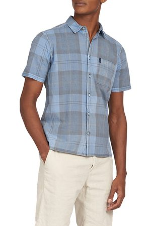 Barbour Men Short sleeves - Men's Tailored Fit Tartan Short Sleeve Button-Up Shirt