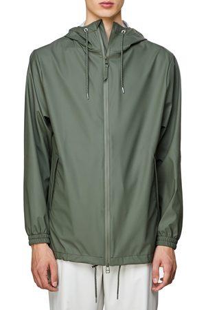 Rains Men's Storm Breaker Waterproof Hooded Rain Jacket