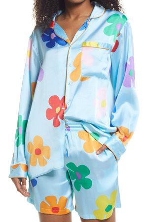 BP. Be Proud By Pride Print Satin Gender Inclusive Pajama Shirt