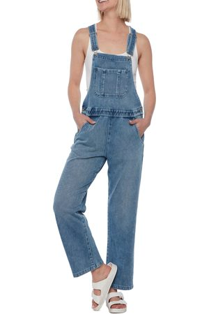 WASH LAB Women Dungarees - Women's Overalls