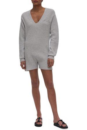 Helmut Lang Women Long sleeves - Women's Wool & Cashmere Long Sleeve Romper