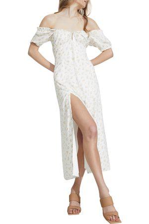 Bardot Women's Floral Off The Shoulder Dress