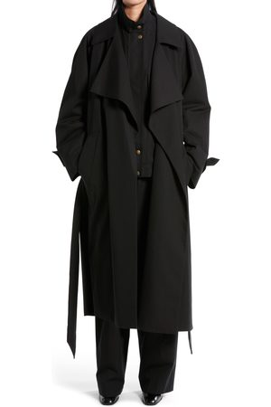 The Row Women's Au Belted Cotton Trench Coat