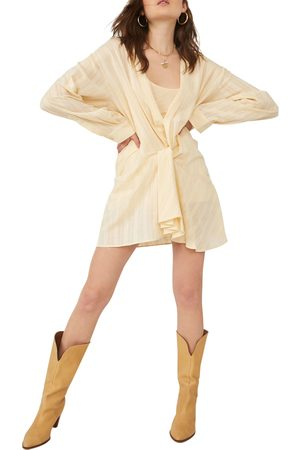 Free People Women's Tara Twist Long Sleeve Minidress