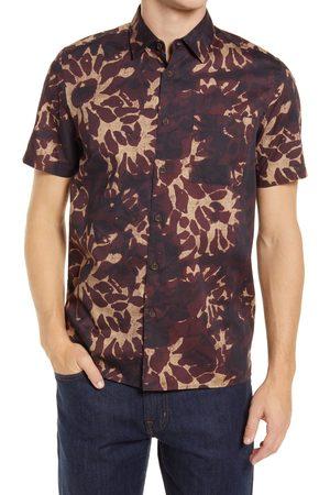 Ted Baker Men's Ufroze Oversize Short Sleeve Button-Up Shirt