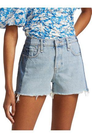 Hudson Women's Reconstructed Lori Denim Shorts - Bold - Size 31