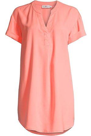 Vineyard Vines Women's Easy Tunic Dress - Bright Peach - Size Medium