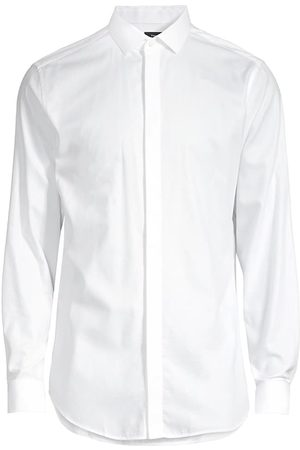 THEORY Men's Regular-Fit Dover Tux Dress Shirt - - Size 15