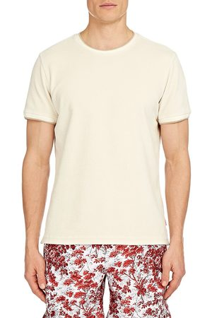 Orlebar Brown Men's Sammy Terry Cloth T-Shirt - Almond - Size XL